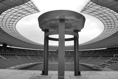 ` S Olympia Stadium de Berlim Foto de Stock Royalty Free