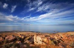 Słone jezioro Zdjęcie Royalty Free