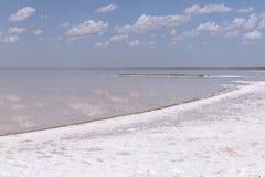 Słone jezioro Zdjęcie Stock