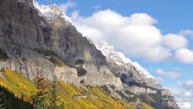 Słoneczna góra obraz royalty free