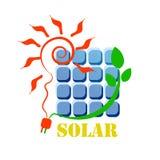 Słoneczna ikona Zdjęcie Royalty Free