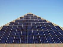 słoneczna moc Fotografia Stock