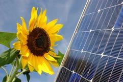 słoneczna moc Obrazy Royalty Free
