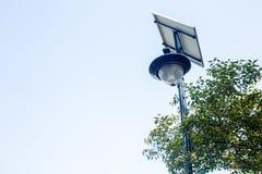 Słoneczne latarnie uliczne Zdjęcie Royalty Free