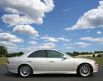 Słonecznego Dnia Sedan Zdjęcia Stock