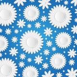 Słoneczniki od papieru Obraz Royalty Free