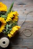 Słonecznikowy bukiet Fotografia Stock