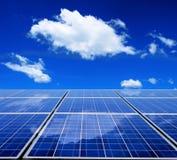 słoneczny energetyczny panel Obrazy Royalty Free