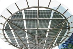 słoneczny energetyczny panel Zdjęcie Stock