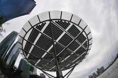 słoneczny energetyczny panel Obrazy Stock