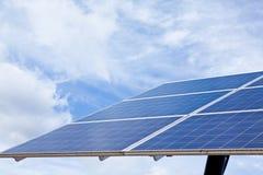 słoneczny energetyczny panel Zdjęcie Royalty Free
