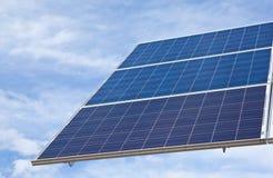 słoneczny energetyczny panel Obraz Royalty Free