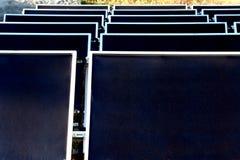 słoneczny kasetonuje Obraz Stock