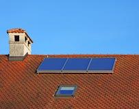 słoneczny kasetonuje Zdjęcia Stock