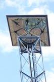 słoneczny nowatorski lekki panel Obrazy Royalty Free