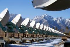 słoneczny radiowego teleskop Zdjęcie Royalty Free