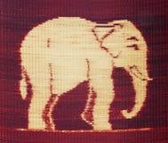 Słonia deseniowa ot maty tekstura Fotografia Stock
