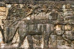 Słonia Khmer ulga Obrazy Royalty Free