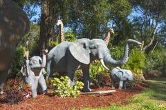 Słonia Ogrodowy pasanie Zdjęcia Stock