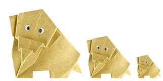 Słonia papier Zdjęcie Stock