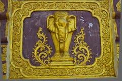 słonia tajlandzki stylowy Zdjęcia Stock