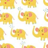 Słonia wzór Zdjęcie Stock