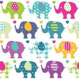 Słonia wzór Obraz Royalty Free