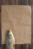 Słony suszy ryba dla piwa Obraz Stock