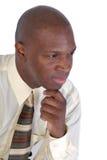 S'orienter d'homme d'affaires Image stock