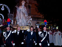 S. Oronzo procession royalty free stock image
