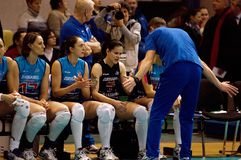 S. Ovchinnikov, coach with team Dynamo(MSC) Stock Photo