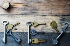 Słowa ` klucza ` Fotografia Royalty Free