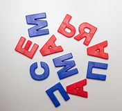 Słowa: Rodzina Ja, mama, tata _ Fotografia Stock
