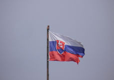 Słowak flaga Sistani Fotografia Royalty Free