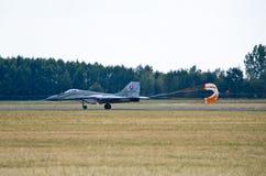 Słowak Mig-29 na Radomskim Airshow, Polska Fotografia Stock