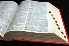 słownik zdjęcia stock