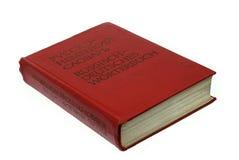 słownika niemiec rosjanin Fotografia Royalty Free