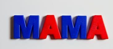 Słowo: Matka, Cyrillic Obrazy Royalty Free