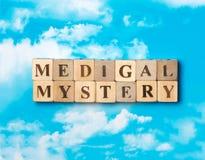 Słowo Medyczna tajemnica Zdjęcia Stock