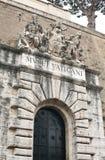 S P Q R-Vatikaan museum-I-Rome Royalty-vrije Stock Afbeeldingen