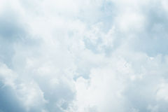 It's painted by cloudy sky. Everyday the sky create new atmosphere Royalty Free Stock Images