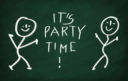 It's party time! Stock Photography