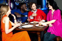 It's a party time. royalty free stock images