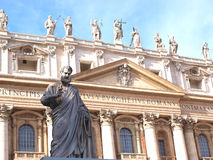 S.Peter statue Royalty Free Stock Images
