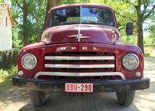 1950s pickup truck - Opel Blitz 1.75T - front view Royalty Free Stock Photo