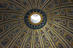 S. Pietro Basilica ceiling Stock Photography