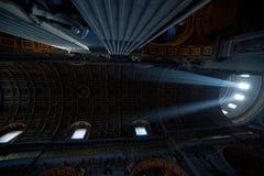 S. Pietro Basilica ceiling Royalty Free Stock Photos