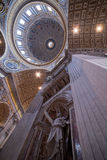 S. Pietro Basilica ceiling - Stock Image Royalty Free Stock Photo