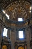 S. Pietro Basilica windows Stock Photography