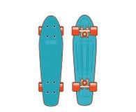 70s plastic skateboard Royalty Free Stock Photos